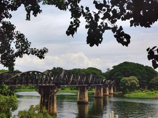 River Kwai bridge in Thailand.