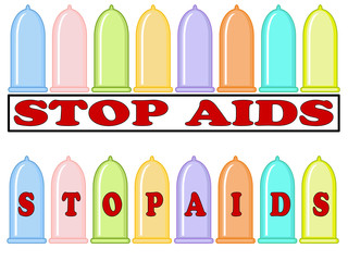 "Borders "" Stop Aids""."