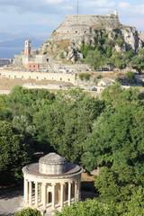 Corfu Fort and Rotunda