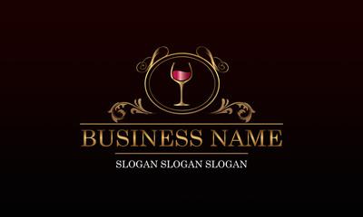 Logo vignoble - vin N