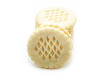 An Unhealthy Snack of Vanilla Wafer Cookies