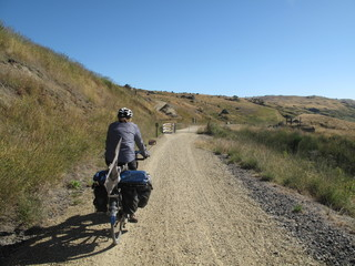 cyclotourisme sur l'otage trail