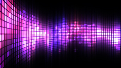 Magenta LED Dance Lights Wall Background