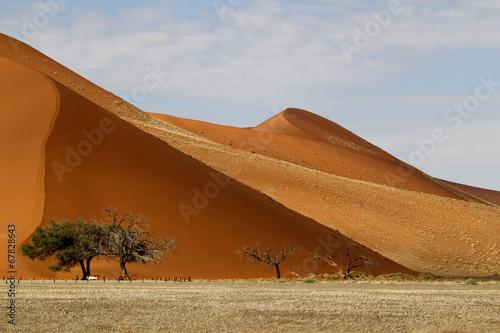 Naklejka Dünenlandschaft, Sossulvlei, Namibia
