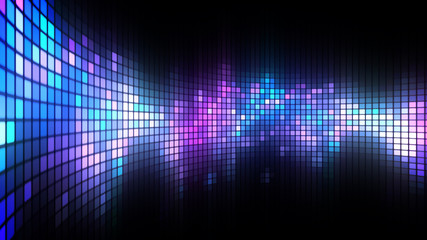 Dance Lights Wall Background