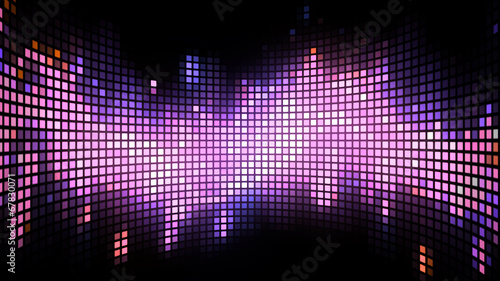 Curved Dance Light Box Background - 67830071
