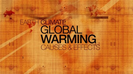 Global warming effects wood text earth words tag cloud