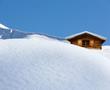 Schihütte im Pulverschnee