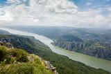 Danube river at Iron Gate gorge