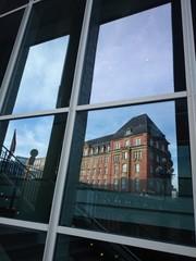 Gebäudespiegelung in Hamburg