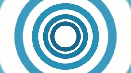 青いサークルのアニメーション3