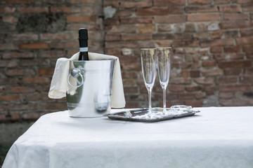 champagne - brindisi