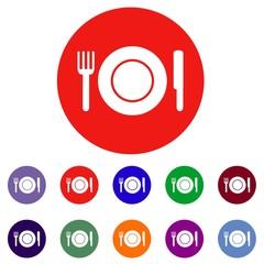 Plate web icon