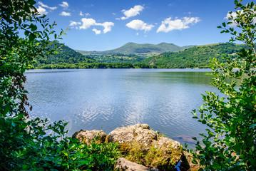 Lac de Chambon en Auvergne