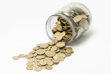 Coins In Bank