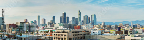 Los Angeles cityscape panorama - 67837887