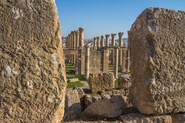 Ruins of Jerash in Jordan