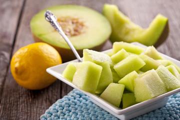 fresh melon for breakfast
