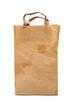 worn paper shopping bag