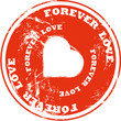 Forever Love Button 2207