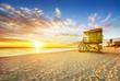Miami South Beach sunrise - 67839294