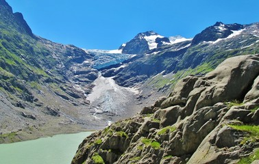 Triftgletscher im Berner Oberland