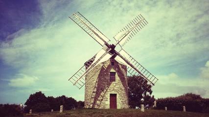 Moulin vintage hdr