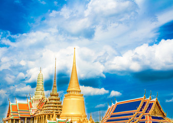 Wat Phrakeaw, The royal temple in the Grand Palace Area, Bangkok