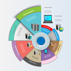 Enterprise application Integration and technology Infographics