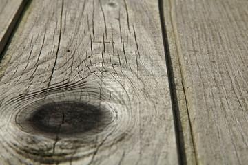 nœud d'une planche en bois
