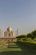 View of Taj Mahal in Agra India