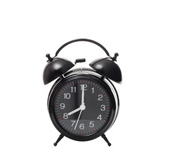 Alarm clock on white background isolated