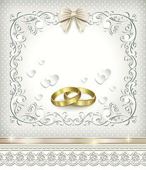 postcard for wedding day