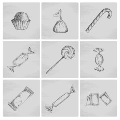 Sketch candy icons