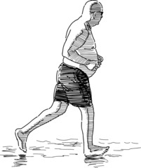 running person