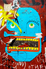 Graffiti face
