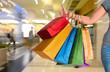 Female holding shopping bags