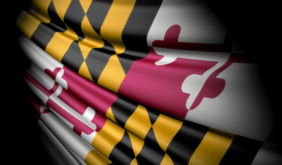 Flag of Maryland (USA)