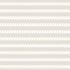 Rope. Seamless vector pattern.