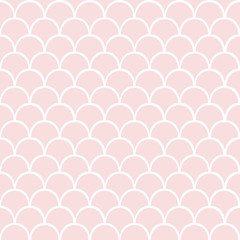 Pink seamless vector pattern.