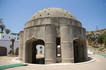 Pavilion with hot well in Calitea, Rhodes
