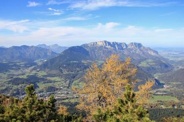 Bergpanorama Berchtesgaden