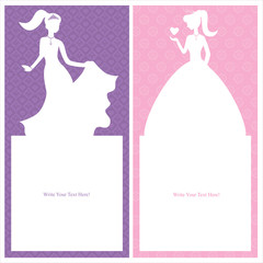 princess card design