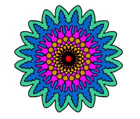 frattale colorato