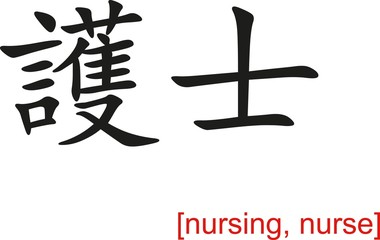 Chinese Sign for nursing, nurse