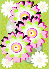 Flores soleadas