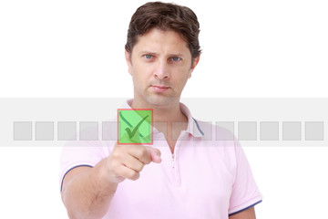 Selecting man - the choice