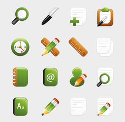 Learning and Study Icon