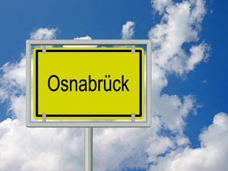 Osnabrück - Ortsschild