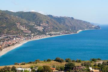 Sicily east coast.